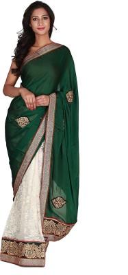 Jugniji Printed Fashion Handloom Net Sari