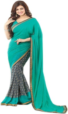 TodayNFashion Self Design Fashion Georgette Sari