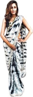 Shoppingover Self Design Bollywood Handloom Poly Silk Sari