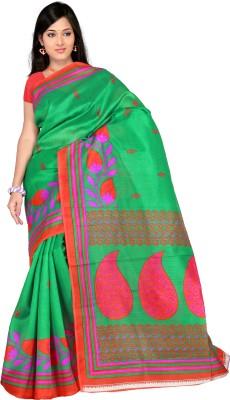 R D Fab Printed Bhagalpuri Art Silk Sari