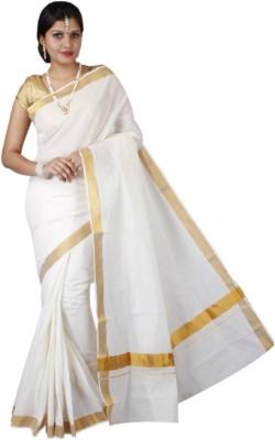Creative Weaves Plain Mysore Cotton Sari