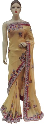 Veena Saree Embriodered Bollywood Georgette Sari