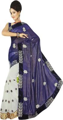 NEW LOOK DESINER Embriodered Fashion Net Sari
