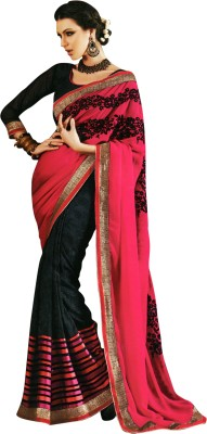 Madhuri Embriodered Fashion Chiffon Sari