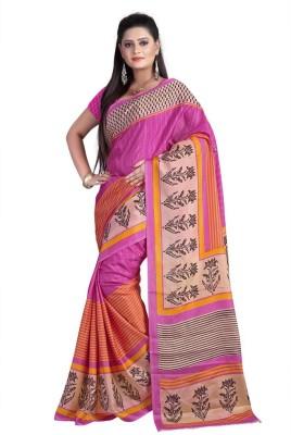 Cutie Fashion Self Design Daily Wear Silk Sari