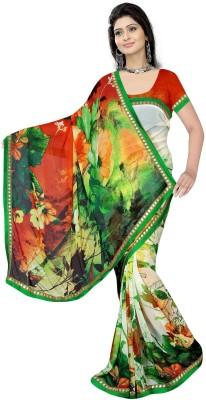 Gaurangi Creations Printed Fashion Georgette Sari