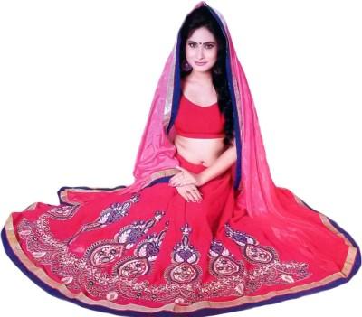 Arohee Embriodered, Embellished Fashion Chiffon Sari