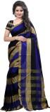 Sahaj Creation Striped Bandhani Silk Sar...