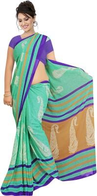 Simran Fashion Printed Bollywood Handloom Georgette Sari