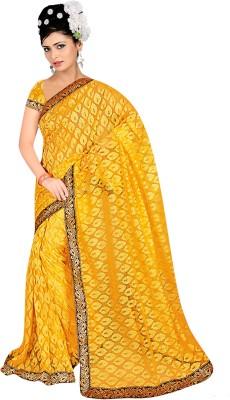 Salasar Self Design Fashion Brasso Sari