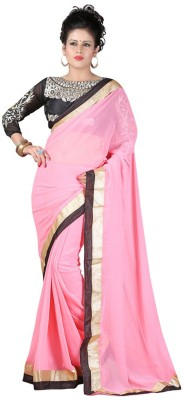 Amar Enterprice Embriodered Daily Wear Chiffon Sari