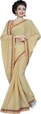 J AND J FASHION Embellished Fashion Chiffon Sari