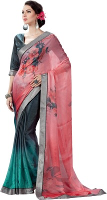 LIBERTY LIFESTYLE Printed Fashion Georgette Sari
