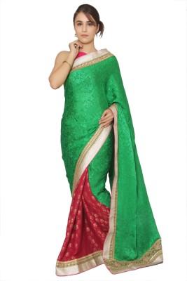 Vibhuti Sarees Self Design Fashion Jacquard Sari