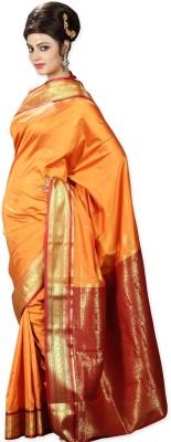 Shivam Fashions Self Design Fashion Silk Sari