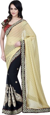 Hitansh Fashion Printed Fashion Jacquard Sari
