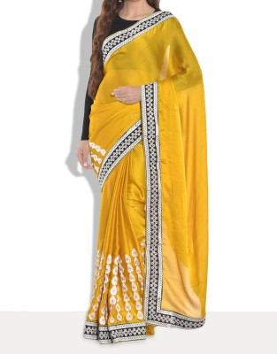 Parmar Design Embriodered Bollywood Silk Sari