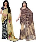 Kashvi Sarees Printed Fashion Georgette ...