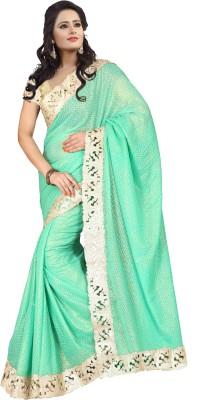 Crafts N Culture Self Design Fashion Georgette Sari