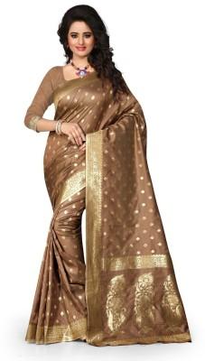 MADA Printed Bollywood Tussar Silk Sari