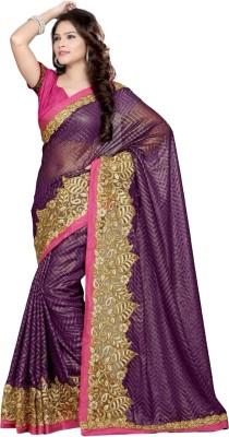 Varlaxmi Embriodered Fashion Banarasi Silk Sari