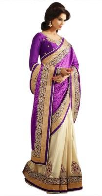 The Core Fashion Embriodered Fashion Jacquard Sari