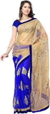 Kartsasta Self Design Bollywood Handloom Net Sari