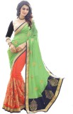Smartlook Embroidered Bollywood Georgett...