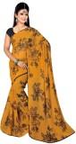 Pure Silk Floral Print Meghalaya Chiffon...