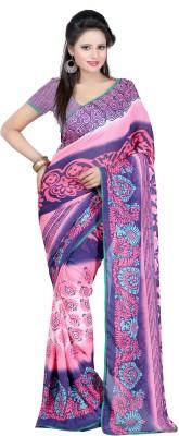 Nikita Sarees Printed Fashion Chiffon Sari