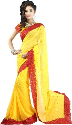 Stylo Self Design Daily Wear Georgette Sari