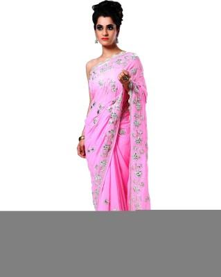 Ranas Self Design Fashion Handloom Pure Georgette Sari