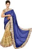 NIDHI210 Embroidered Fashion Net Sari (B...