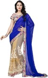 SADHANA IMPEX Embroidered Bollywood Geor...