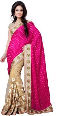 Vibha Creation Self Design Bollywood Viscose Sari