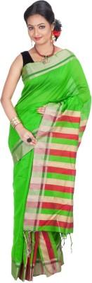Jhumya Solid Tant Handloom Cotton Sari