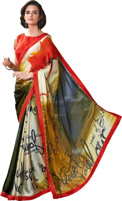 Anwesha Sarees Printed Fashion Pure Georgette Sari