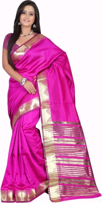 Garg Fashion Self Design Banarasi Art Silk Sari