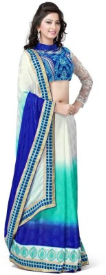 Krishna Embriodered Fashion Jacquard Sari
