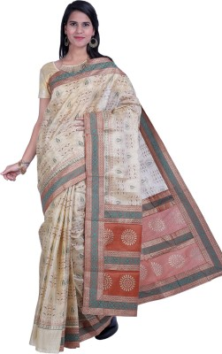 Ethnic Colours Self Design Fashion Raw Silk Sari