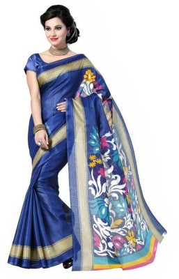 Panchi Printed Bhagalpuri Printed Silk Sari