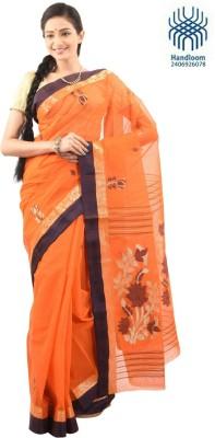 Tantuja Self Design Tangail Handloom Cotton Sari