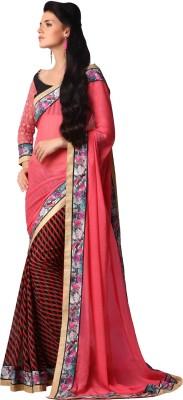 Discover Sarees Printed Bollywood Georgette Sari