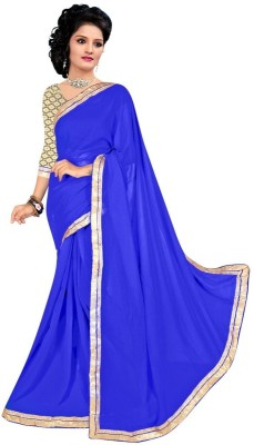 VANI FASHIONS Self Design Fashion Georgette Sari