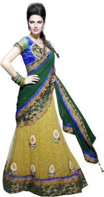 Moh Manthan Self Design Fashion Net, Art Silk Sari(Multicolor) at flipkart