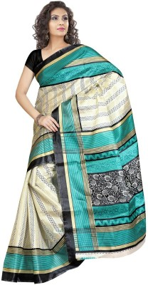 Mahaprabhu Printed Daily Wear Handloom Art Silk Sari