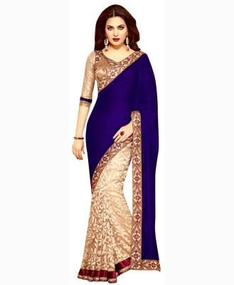 Dancing Girl Plain Bollywood Velvet Sari