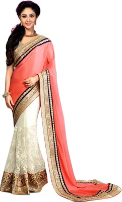 Karan Fashion Embriodered Fashion Art Silk Sari