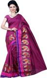 Sanju Sarees Self Design Banarasi Banara...