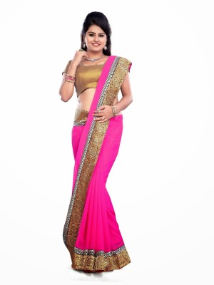 Ecoco Self Design Daily Wear Lace Sari